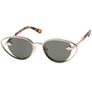 KAREN WALKER Kissy Kissy Cat Eye Sunglasses